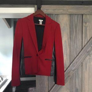 Black & Red Cache Blazer Size 6